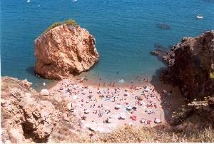Playa de la Illa Roja